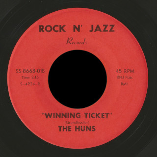 The Huns Rock n' Jazz 45 Winning Ticket