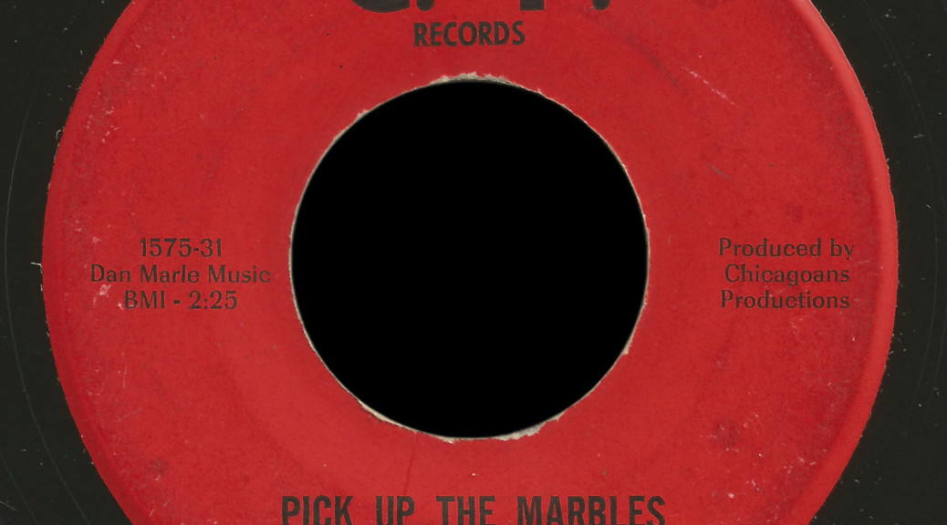 The Real List C.P. 45 Pick Up the Marbles