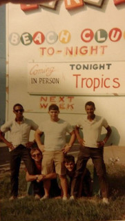 Tropics Jokers Three Beach Club Nags Head 1968