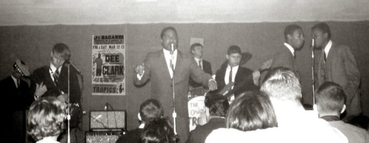 The Tropics with Dee Clark at J's Bacardi, March 1965