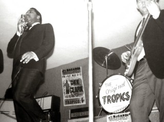 The Tropics at J's Bacardi, March 1965 Dee Clark and Mike Peters