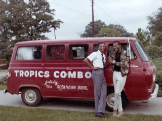 The Tropics Combo Van, Arnold Robinson and Jimmy Robinson
