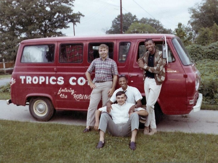 Tropics Van Ken Adkins, Jimmy Robinson, Leonard Collins, Arnold Robinson