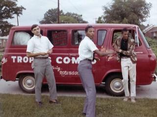 Tropics Combo Van, Leonard Collins Arnold Robinson and Jimmy Robinson