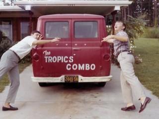 The Tropics Combo Van, Leonard Collins and Ken Adkins