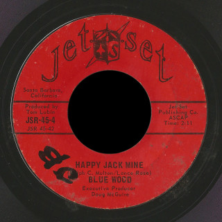Blue Wood Jet Set 45 Happy Jack Mine