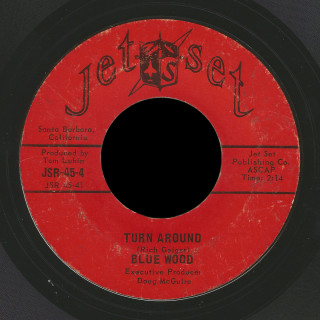 Blue Wood Jet Set 45 Turn Around