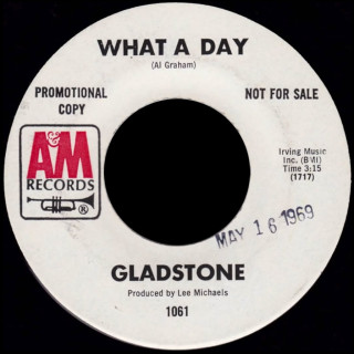 Gladstone A&M 45 What A Day
