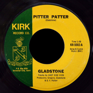 Gladstone Kirk Record Co. 45 Pitter Patter