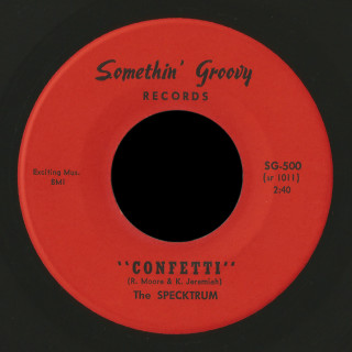 The Specktrum Somethin' Groovy 45 Confetti