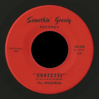 The Specktrum Somethin' Groovy 45 Confetti