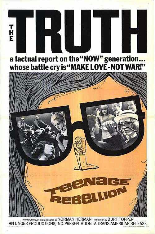 Teenage Rebellion aka Mondo TeenoPoster