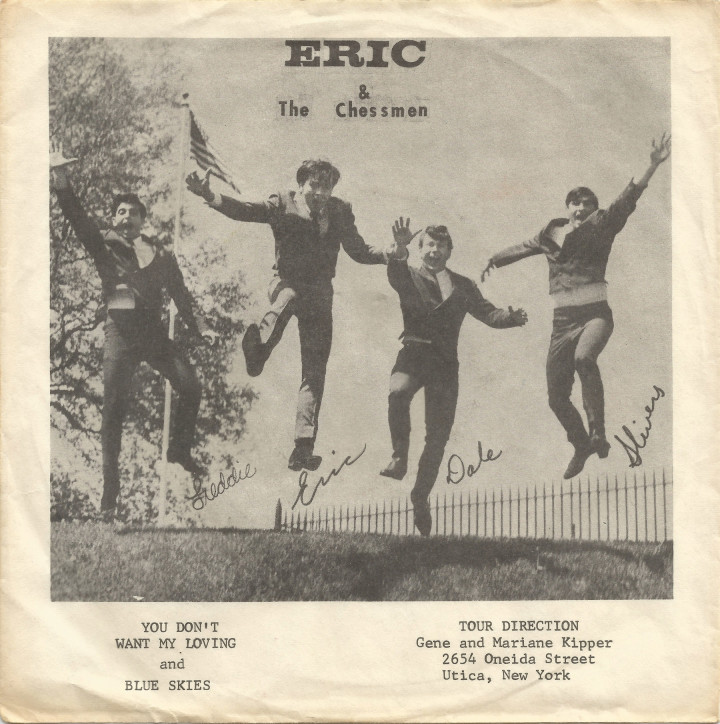Eric & the Chessmen Kama picture sleeve