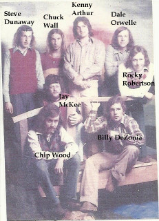 The Greater Experience band, 1974
