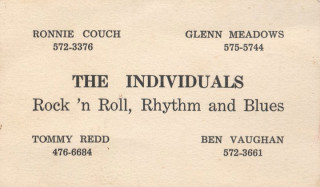 The Individuals 1st business card