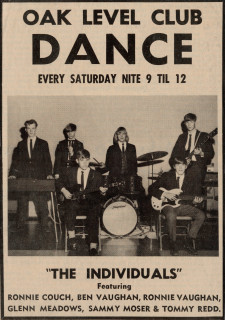 The Individuals, ad for Oak Level Club show