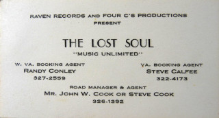 The Lost Soul business card
