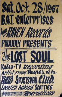 Lost Soul poster, October 28, 1967