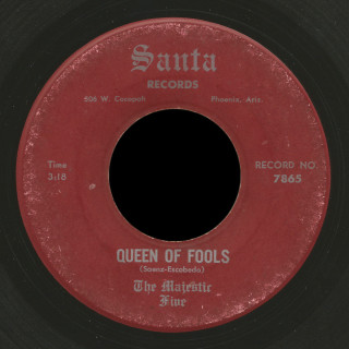 The Majestic Five Santa 45 Queen of Fools