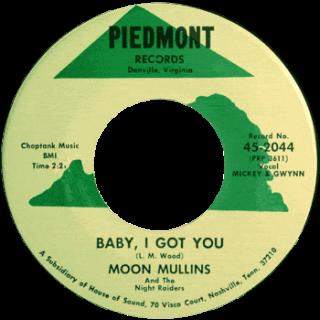 Moon Mullins Piedmont 45 Baby I Got You
