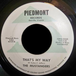 Mustangers Piedmont 45 That's My Way