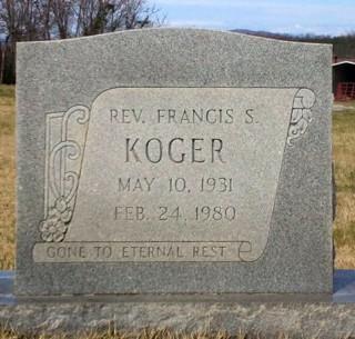 Frank Kroger's grave
