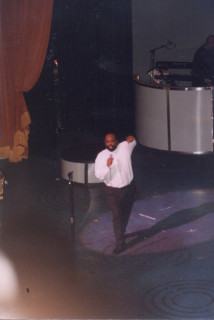 Jerry Wilson of the Soulmasters at the Apollo Theater