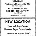 Soulmasters Danville Register, November 19, 1967