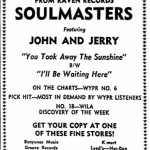 Soulmasters Danville Register, September 30, 1967