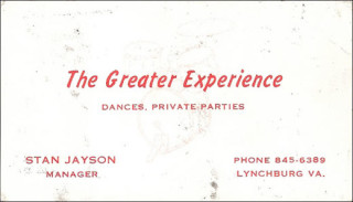 The Greater Experience Business Card