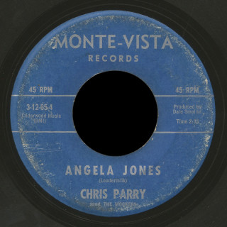 Chris Parry and The Mockers Monte- Vista 45 Angela Jones