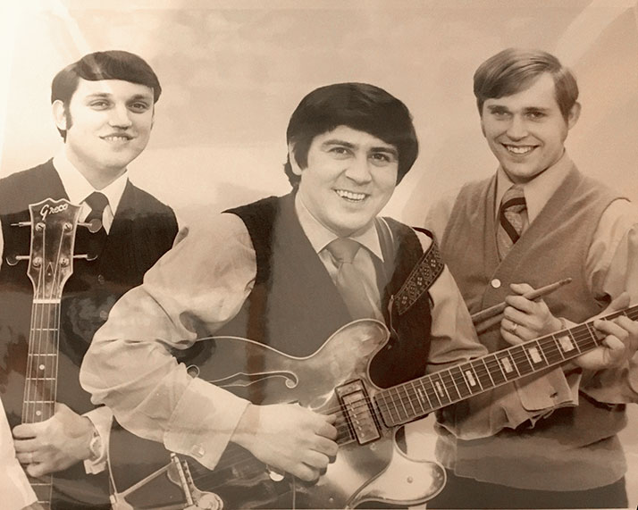 The Good Time Trio photo, Kenny Stone, Johnny Thompson and Bob Stanley