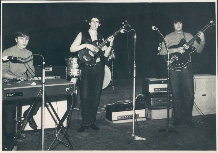 Left to right: John Carroll, Peter Carney and Mick Tucker