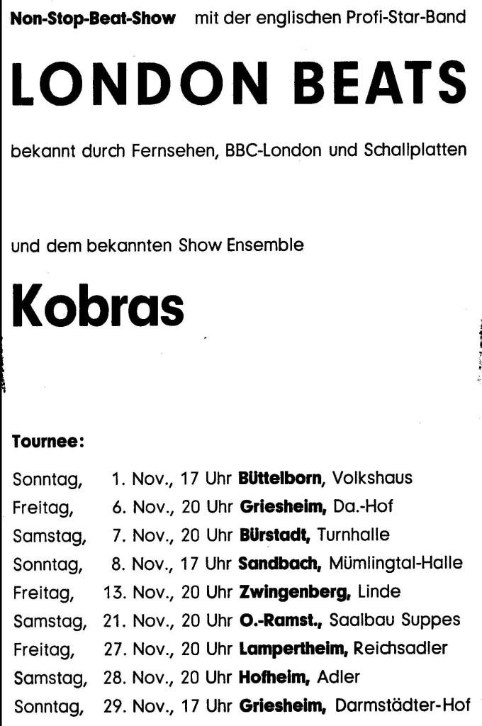 London Beats Germany Publicity 06