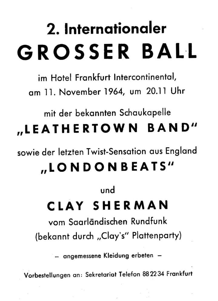 London Beats Germany Publicity 07