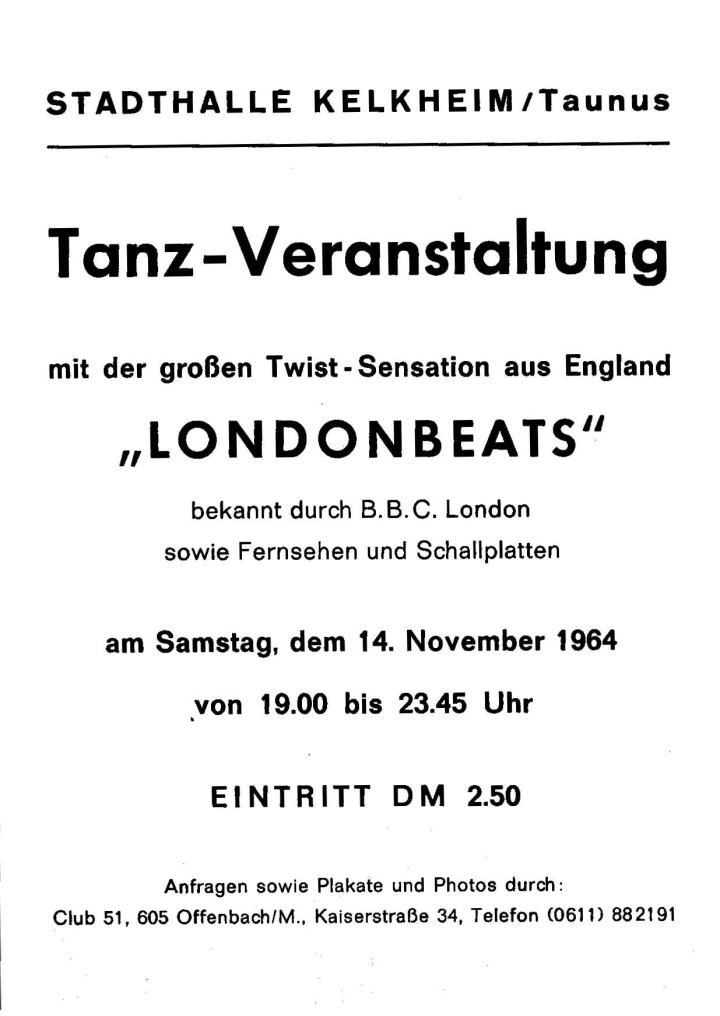 London Beats Germany Publicity 08