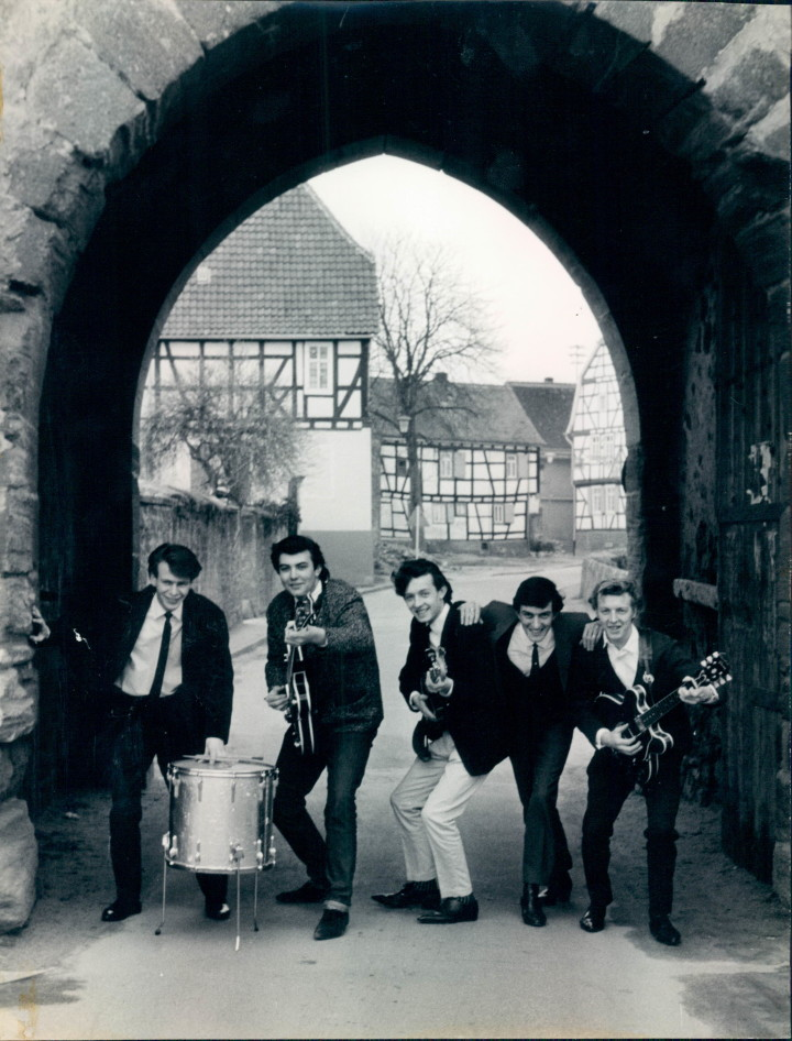 The London Beats based in Germany 1964