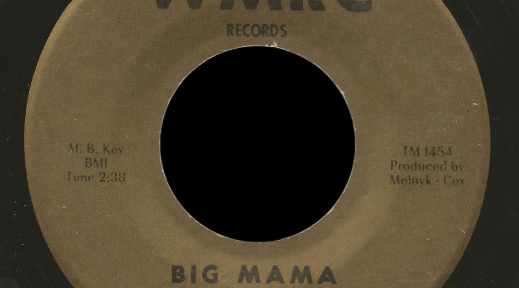 Bobby Simms & the Simmers WMRC 45 Big Mama
