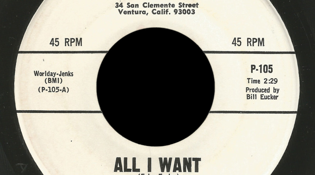 The Colony, Platter Records 45, All I Want