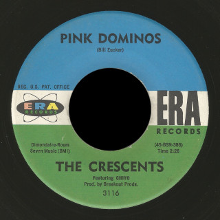 The Crescents featuring Chiyo Era 45 Pink Dominos