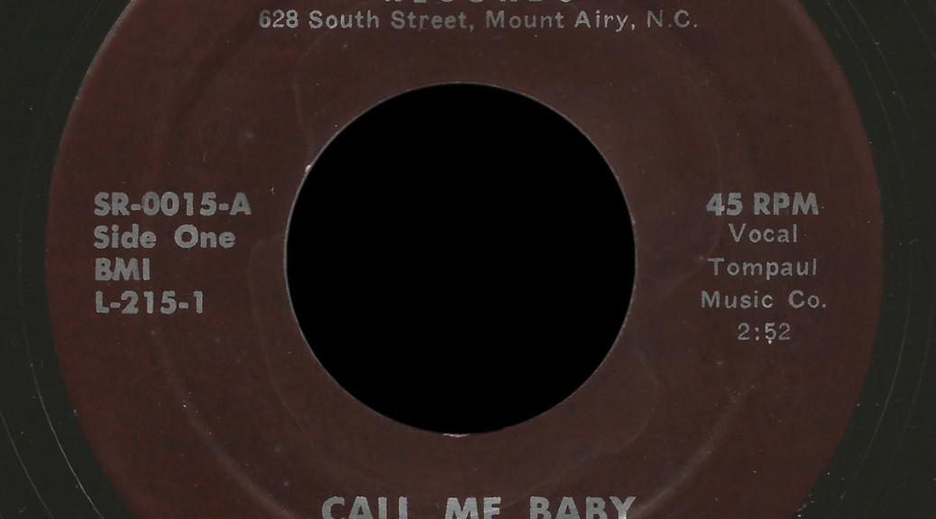 The Happy Hoss Stark 45 Call Me Baby