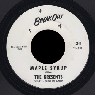 Kresents Break Out 45 Maple Syrup