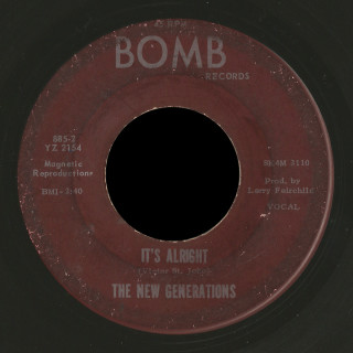 The New Generations Bomb 45 It's Alright