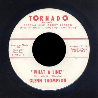 Glenn Thompson Tornado 45 What a Line