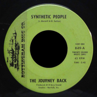 The Journey Back Nottingham Disc Co. 45 Synthetic People