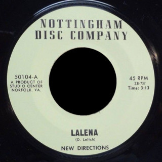 New Directions Nottingham Disc Co. 45 Lalena