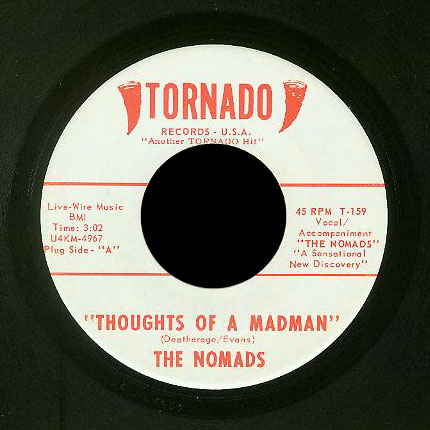 Nomads Tornado 45 Thoughts of a Madman