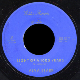 Alva Starr Golden 45 Light of 1000 Years