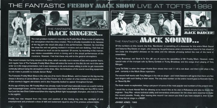 Freddie Mack back cover