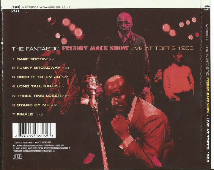 Back cover of the Acid Jazz re-release